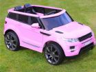 Range Rover HSE Sport Style Car 12v Electric Battery Ride On Jeep Pink